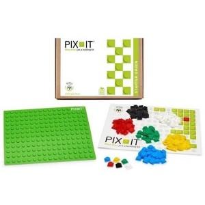 PIX-IT na strat zielony - klocki edukacyjne 180 el. (Z2567)