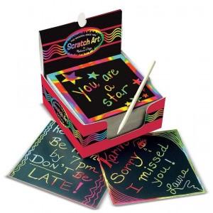Melissa & Doug - zdrapka - zestaw karteczek do grawerowania (Z2079)