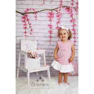 Gamex - Sukienka CHIC różowa rozm. 86