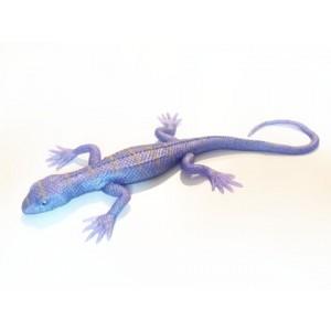Rozciągliwa jaszczurka - fioletowa perłowa (Z2771)