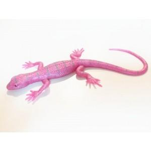 Rozciągliwa jaszczurka - różowa perłowa (Z2770)