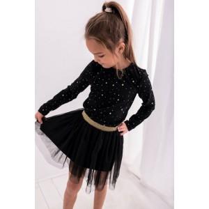 Lily Grey Spódnica tiulowa czarna Z2250