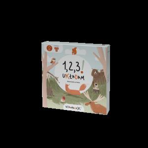 Wspomagajki - 1,2,3! Układam, zwierzęta w lesie (Z2884)
