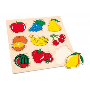 Small Foot Design - Puzzle drewniane - owoce (Z0004)