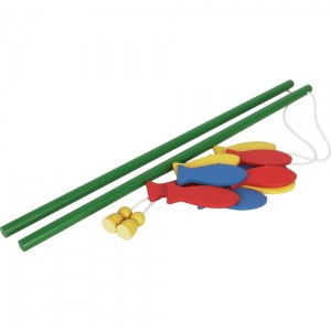 Drewniana gra wędkowanie  (Z0035)