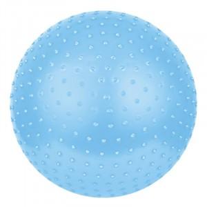 Piłka z wypustkami masującymi do ćwiczeń 65 cm - niebieska (Z0052)