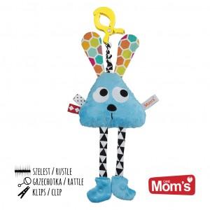 Mom's Care Hencz Toys - Długołapek do wózka, łóżeczka, fotelika - Niebieski (Z1004)