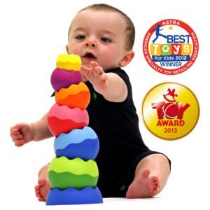 Kule Tobbles Neo - klocki dla najmłodszych Zabawka Roku (Z0161)