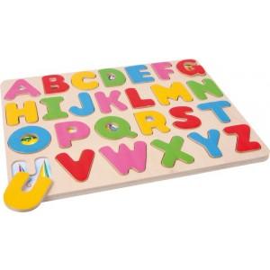 Small Foot Design - Puzzle drewniane - alfabet (Z0218)
