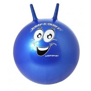 Piłka do skakania Axer 55 cm - niebieska (Z0234)