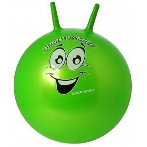 Piłka do skakania Axer 65 cm - zielona (Z0250)