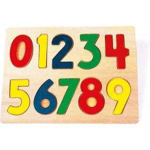 Small Foot Design - Puzzle drewniane - Liczby (Z0264)