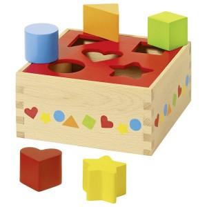 GOKI - drewniany sorter - kształty i kolory (Z0280)