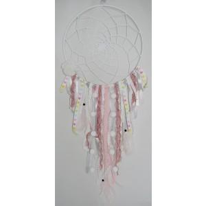 Łapacz snów - duży, ręcznie wykonany, śr. 30 cm  (Z0293)
