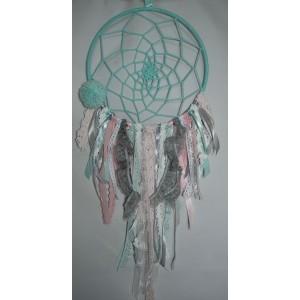 Łapacz snów - duży, ręcznie wykonany śr. 25 cm  (Z0294)