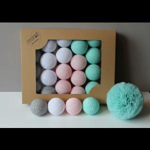 Cotton Balls - Oryginalne dekoracyjne kule 20 szt. Mariposa (Z0400)
