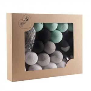 Cotton Balls - Oryginalne dekoracyjne kule 20 szt. Mint Marti (Z0401)