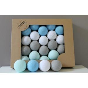 Cotton Balls - Oryginalne dekoracyjne kule 20 szt. 2B Cute (Z0406)