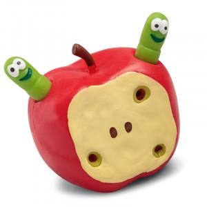 Rozciągliwe jabłko z robaczkami (Z0418)