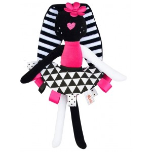 Przytulanka - Króliczka Mom's Care Hencz Toys Zabawka Roku(Z0636)