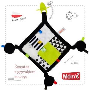 Sensoryczna szmatka z gryzakiem Mom's Care Zabawka Roku (Z0657)