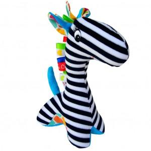 Mom's - Przytulanka żyrafa Tymek - czarno-biała Zabawka Roku (Z0661)