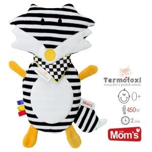 Mom's -Termofoxi lisek termofor - biało-czarny (Z0662)