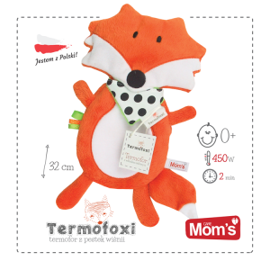 Mom's - Termofoxi lisek termofor - pomarańczowy (Z0663)