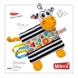 Mom's - Sensoryczna szmatka Zebra (Z0665)