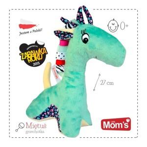 Mom's - Przytulanka żyrafa Miętuś - miętowa Zabawka Roku(Z0699)