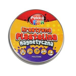 Kreatywna plastelina Pukka FUN - magnetyczna fioletowa (Z0771)