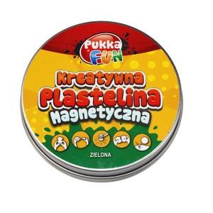 Kreatywna plastelina Pukka FUN - magnetyczna zielona (Z0772)