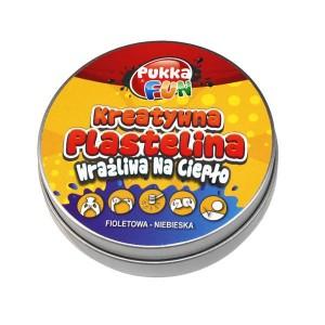 Kreatywna plastelina Pukka FUN - wrażliwa na ciepło fioletowo-niebieska (Z0773)
