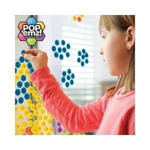 Fat Brain Toys - Przyssawki Pop'emz do układania  (Z0784)