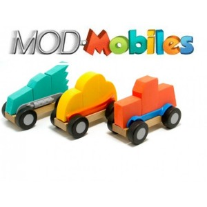 Fat Brain Toys - Mod Mobiles Składane samochodziki  (Z0786)
