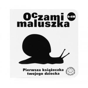 """""""Oczami maluszka - Ślimak"""" - książeczka dla niemowląt (Z0890)"""