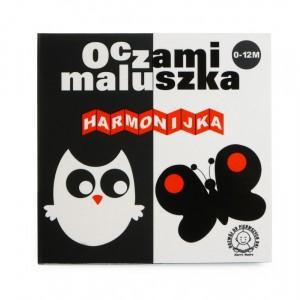 """""""Oczami maluszka -Harmonijka"""" - książeczka dla niemowląt (Z0893)"""