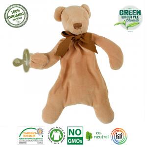 Maud N Lil - Ekologiczna organiczna przytulanka Miś Teddy (Z0929)