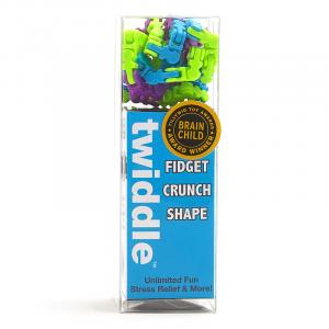 Fidget Twiddle - terapeutyczne klocki złączki Multicolor 70 szt.(Z0932)