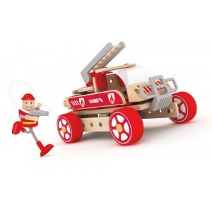 CLASSICWORLD - Autoskładak Wóz strażacki (Z0971)