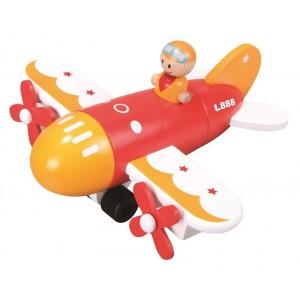Lelin - Magnetyczny samolot do składania dla malucha (Z0975)