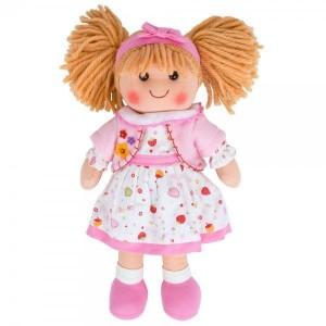 BIGJIGS - Duża lalka szmaciana przytulanka Kasia 35 cm (Z0979)