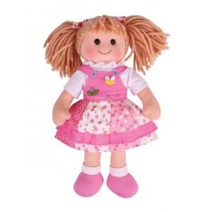 BIGJIGS - Duża lalka szmaciana przytulanka Hania 34 cm (Z0980)