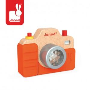 Janod - Drewniany aparat fotograficzny z dźwiękami (Z0995)