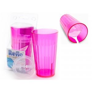 Reflo Smart Cup - najlepszy kubek treningowy - Różowy (Z1037)