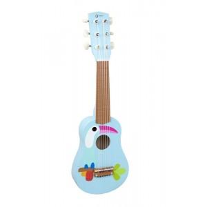 Classic World - Gitara drewniana z tukanem (Z1064)