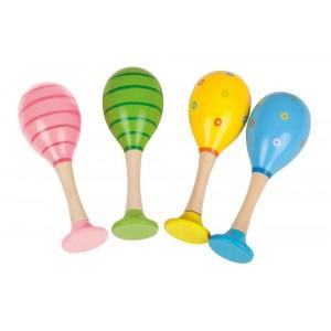 Bigjigs - Kolorowe marakasy dla dzieci (Z1066)