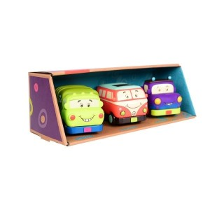B.Toys Mini Wheeee-ls! - zestaw miękkich mini autek (Z1118)