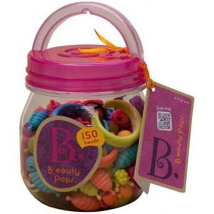 B.TOYS Beauty Pops - zestaw do tworzenia biżuterii - 150 elementów (Z1119)