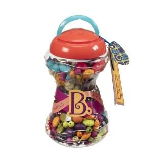 B.TOYS Beauty Pops - zestaw do tworzenia biżuterii - 300 elementów (Z1120)